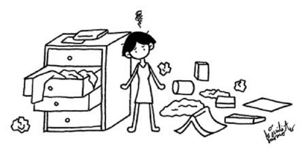 片付けられない 捨てられない悩みやストレスを軽くする方法